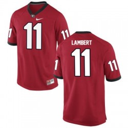 Greyson Lambert Georgia Bulldogs #11 NCAA Jersey - Red