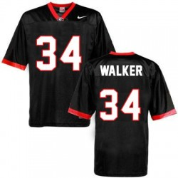 Herschel Walker Georgia Bulldogs #34 NCAA Jersey - Black