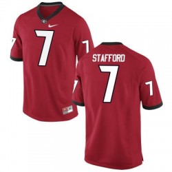 Matthew Stafford Georgia Bulldogs #7 NCAA Jersey - Red