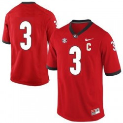 Todd Gurley Georgia Bulldogs #3 (No Name) NCAA Jersey - Red