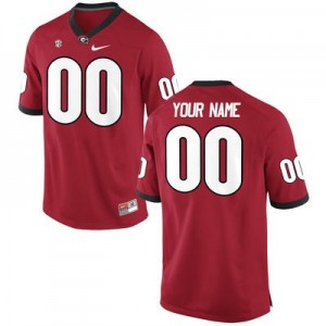 8674006b4 Quick View · Georgia Bulldogs Custom Nike Jersey - Red ...