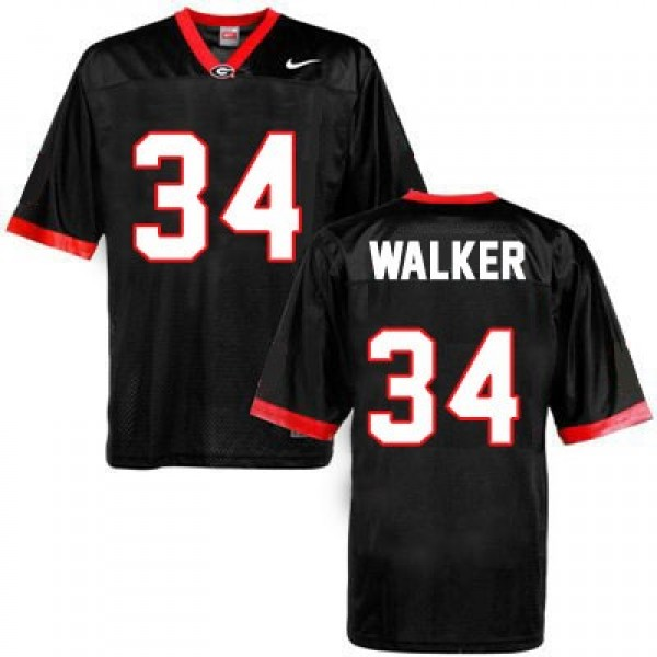 5d90d333720 Herschel Walker Georgia Bulldogs No. 34 Football Jersey - Black 1.jpg